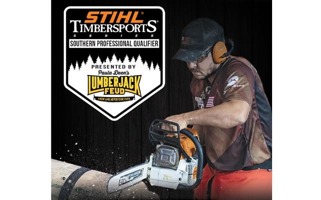 Stihl Timbersports event