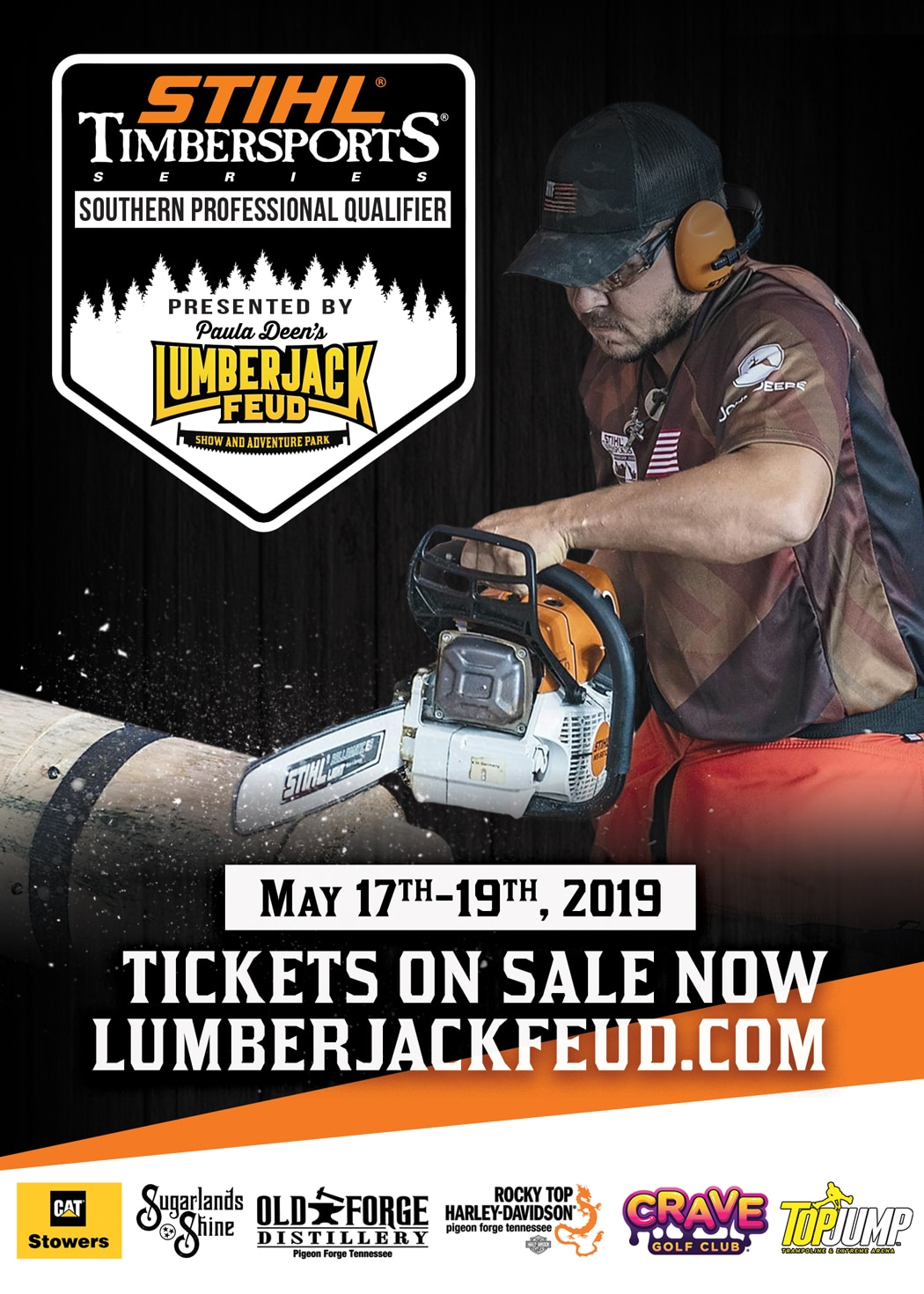 Stihl Timbersports Lumberjack Feud flyer