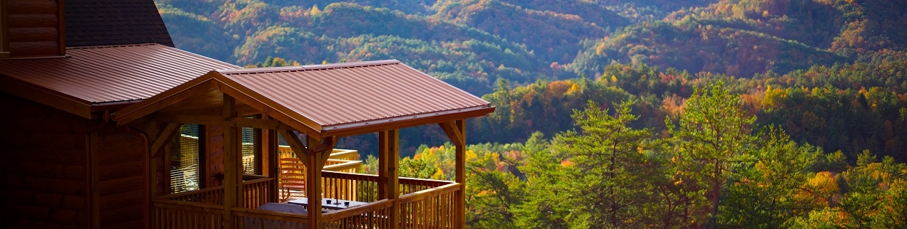 Pigeon Forge Vacation Packages featuring cabins in the Smoky Mountains