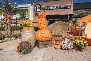 Halloween at The Island in Pigeon Forge Tennessee