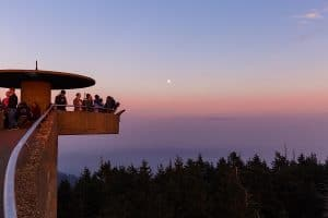 Clingman's Dome at Great Smoky Mountains National Park