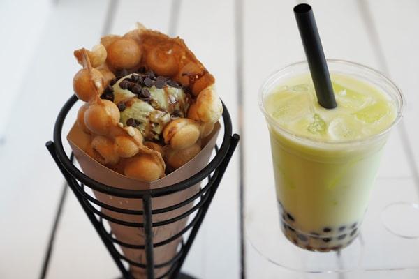 Dulce Nitrogen - Ice Cream and Tea