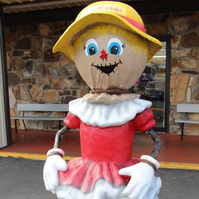 All Dolly'ed Up Scarecrow