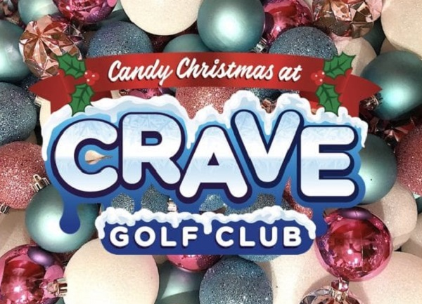 Candy Christmas at Crave Golf Club in Pigeon Forge