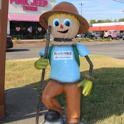 Hiker Scarecrow