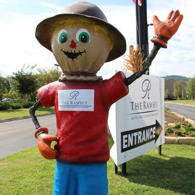 Ole Ray Ramsey Scarecrow