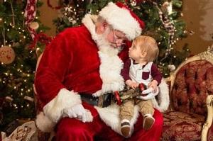 Santa at Crave Golf Club