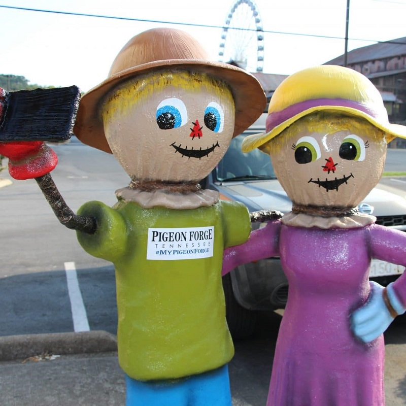 Selfie Scarecrows