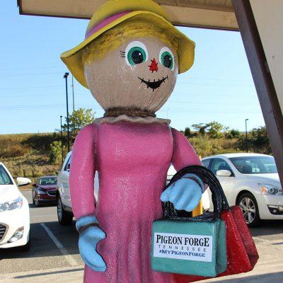 Shopper Scarecrow