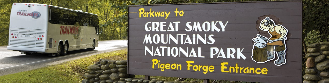 Bus Tours - Great Smoky Mountains National Park, Pigeon Forge Tennessee