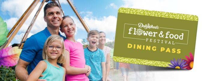 Dollywood Flower & Food Festival Dining Pass