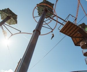 The Flying Ox at Paula Deen's Lumberjack Feud Show and Adventure Park