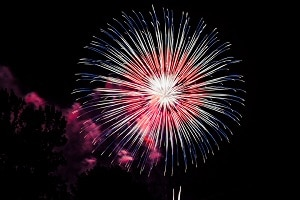 4th of July Fireworks Display in Pigeon Forge