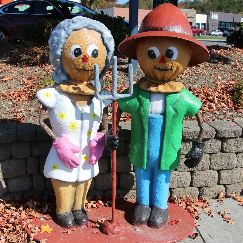 American Gothic Scarecrows