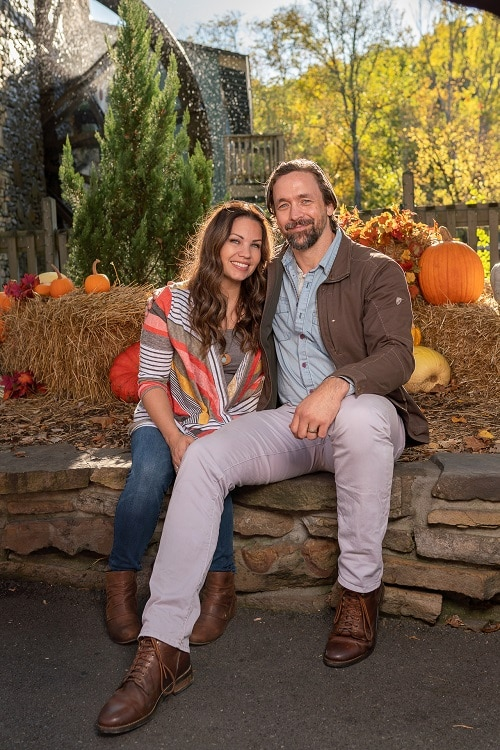 Couple Enjoying Fall Activities at Dollywood Harvest Festival