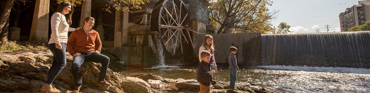 Fall in Pigeon Forge at The Old Mill