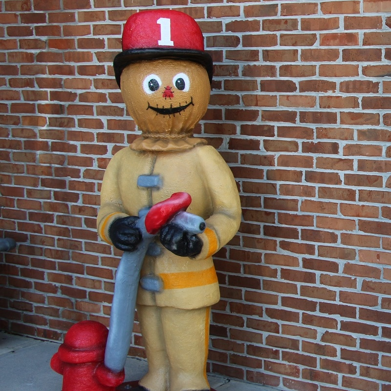 Firefighter Scarecrow
