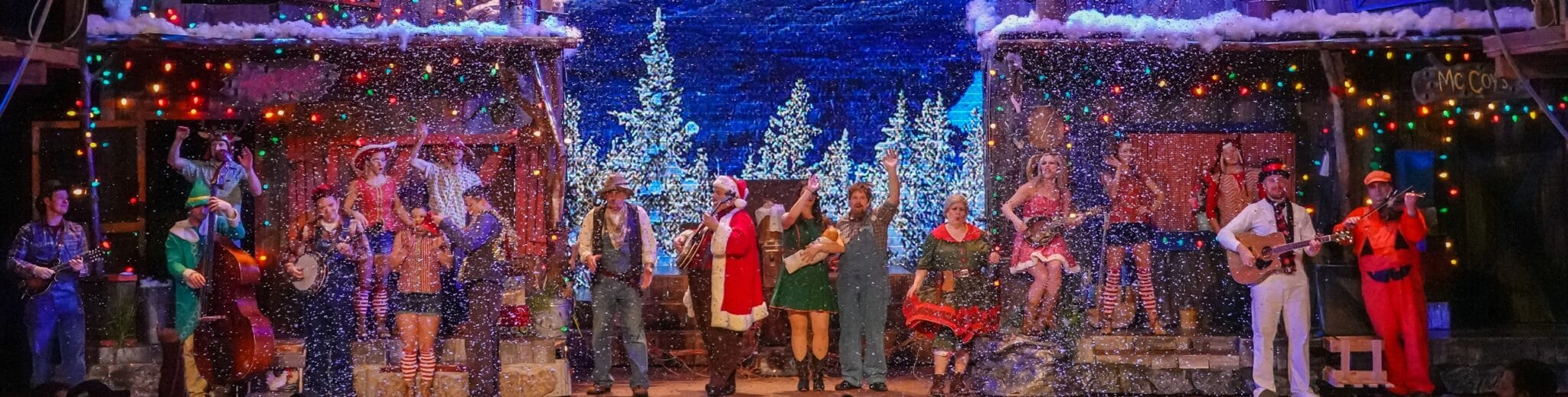 Holiday and Christmas Shows in Pigeon Forge