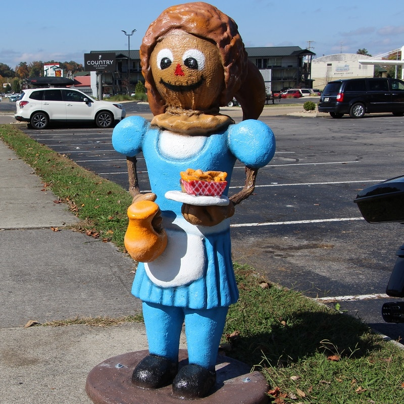 Waitress Scarecrow