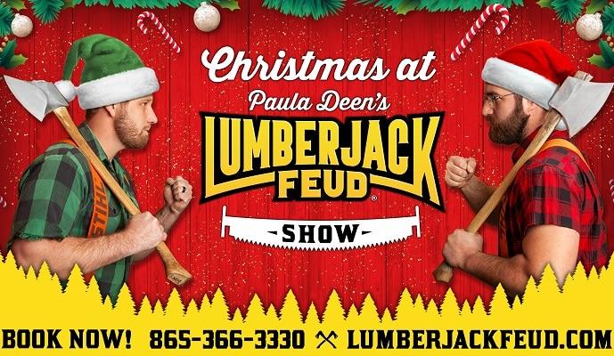 Paula Deen's Lumberjack Feud Christmas Show!