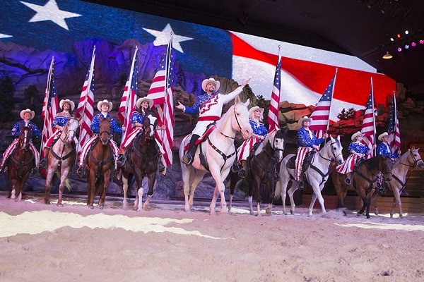 Meet the horses at Dolly Parton's Stampede - Free Things to Do in Pigeon Forge