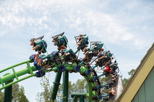Spend a day at Dollywood in Pigeon Forge during spring break