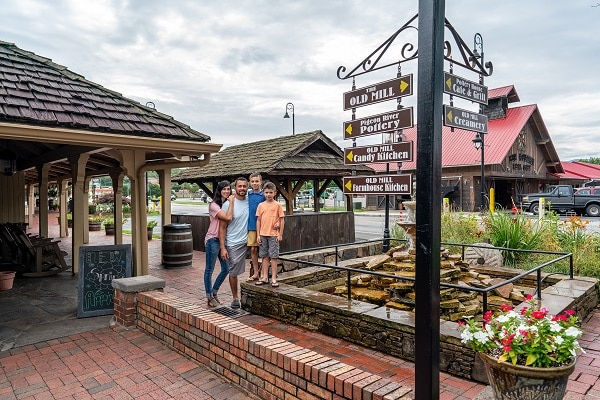 Browsing Old Mill Square - Free Things to Do in Pigeon Forge, TN