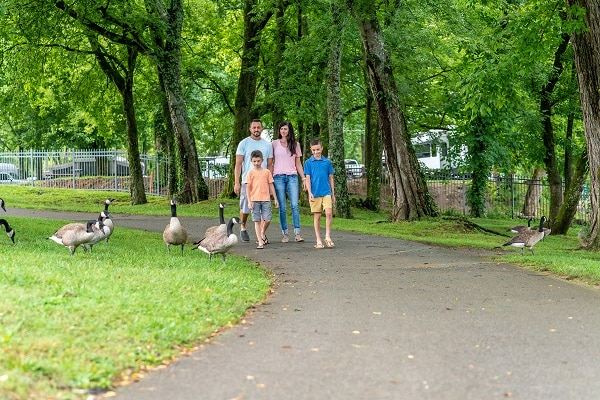 Free Things to Do at Patriot Park in Pigeon Forge, TN