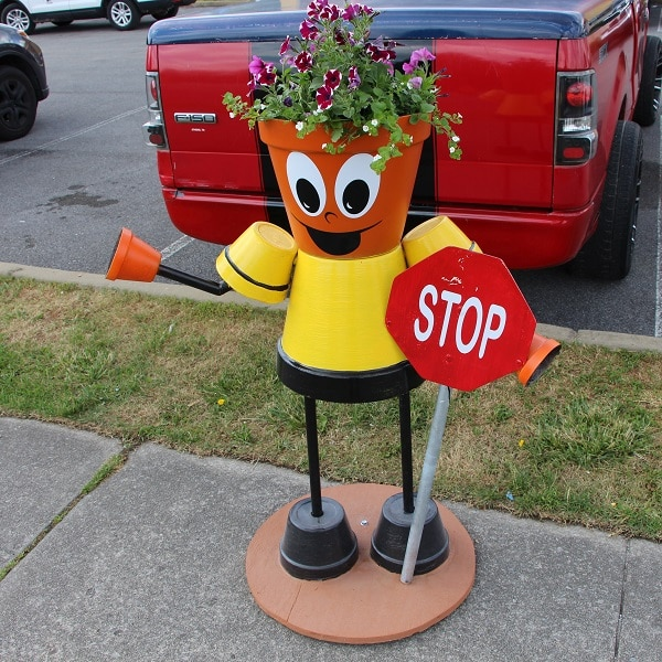 """""""Sowing Seeds of Service"""" Planter Person"""