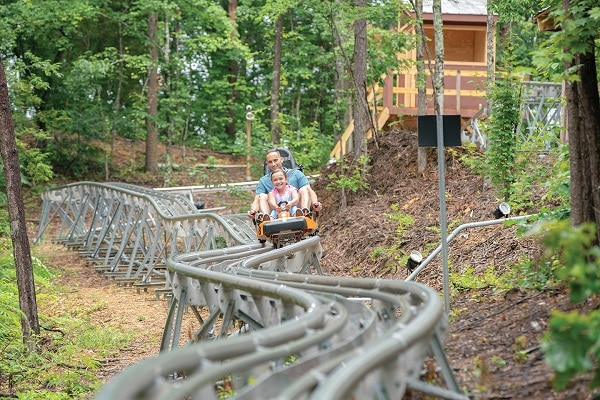 Fun thrill rides for Father's Day in Pigeon Forge