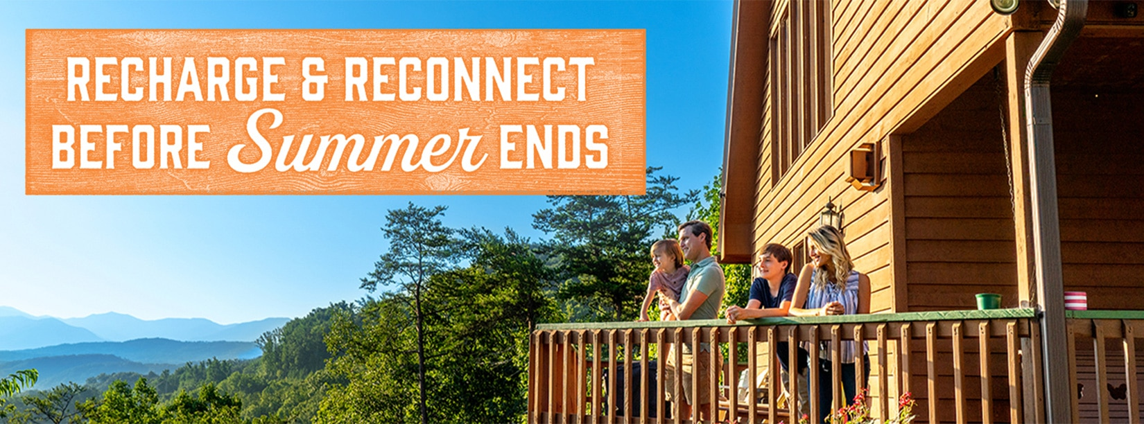 Recharge & Reconnect Before Summer Ends