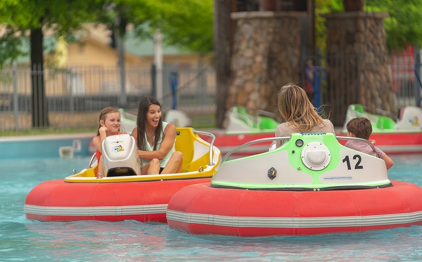 Ripley's Super Fun Park Pigeon Forge - Bumper Boats