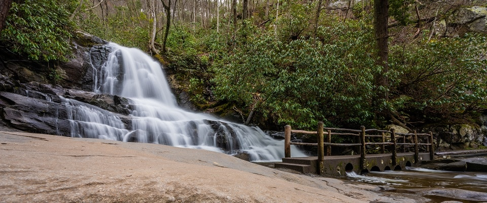 Hike Laurel Falls - Waterfall Hikes in the Smoky Mountains