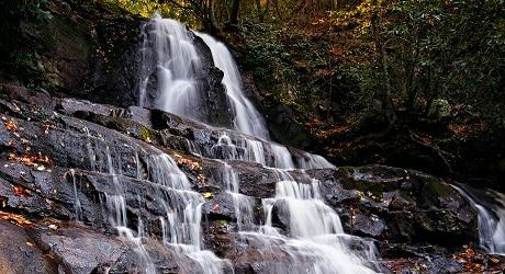 Laurel Falls in the Fall