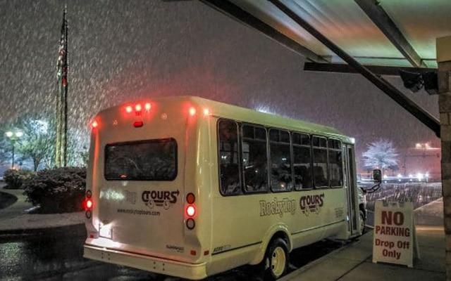 Rocky Top Tours Shuttle Bus